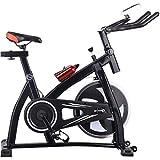 WGFGXQ Bicicleta estática Bicicleta de Ciclismo con Pantalla Bicicleta giratoria silenciosa para el hogar, Bicicletas estáticas con Pedal para Interiores, Equipo de Fitness para Perder Peso de Bici