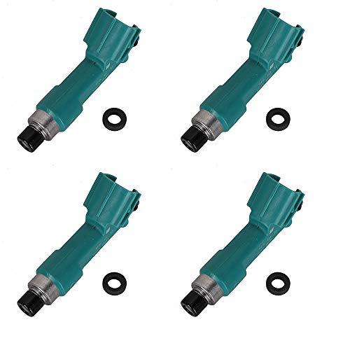 4PCS 23250-28080 Fuel Injectors Nozzles compatible with Toyota Corolla Camry Rav4 Solara Scion 2.4L, Fuel Injections compatible with Scion tC xB Matrix Solara 2.4L 23250-0H060