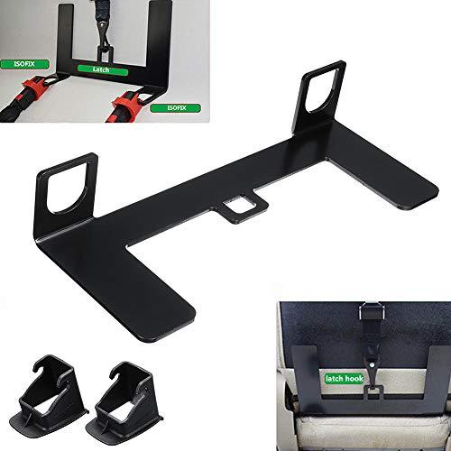 YGQersh Support de Boucle de Ceinture de connecteur de verrou en Acier Isofix pour Le siège de sécurité d'enfant de Voiture