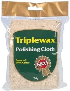 Triplewax Poliertuch, 100 % extraweiche Baumwolle, 100 g