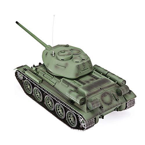 s-idee® 3909-1 Upgrade Version Sowjetunion T-34/85 Sowjetischer RC Kampfpanzer 1:16