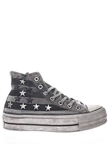 Converse Chuck Taylor All Star Sneaker Vintage Sterne Nieten Weiblich Fw 2019