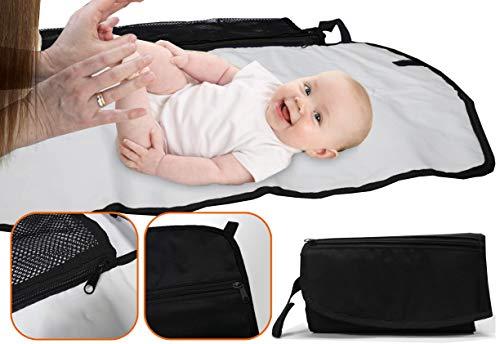 Simply Baby Travel Matelas à langer Extra rembourré et surdimensionné.