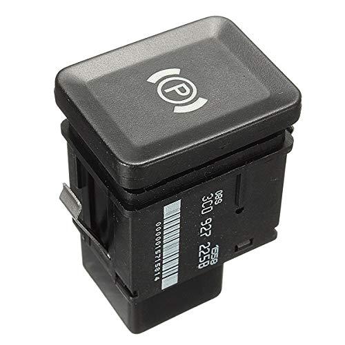 ZXC Autoteile Elektronische Handbremse Parkschalter Bremsknopf for VW Passat R36 B6 C6 CC Auto 3C0927225C 3C0927225B