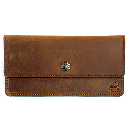 Faraday Phone Bag - RFID Purse - True Cow Leather Vintage Style