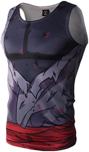 Tsyllyp Mens Running Shirts Gym Tank Tops Bodybuilding Fitness Sleeveless Vest product image