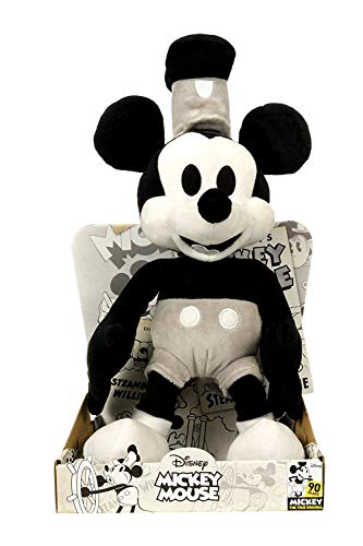 Offizielle Disney Micky Maus 90. Jahrestag Limited Edition 36cm Steamboat Willy