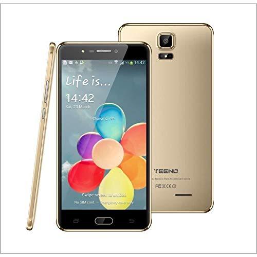 Teléfono Móvil 3GB+32GB, Pantalla 6' HD+ Screen Movil, Android Smartphone Libre Dual SIM+Dual Cameras, GPS/WiFi/4G (ES-J-16)