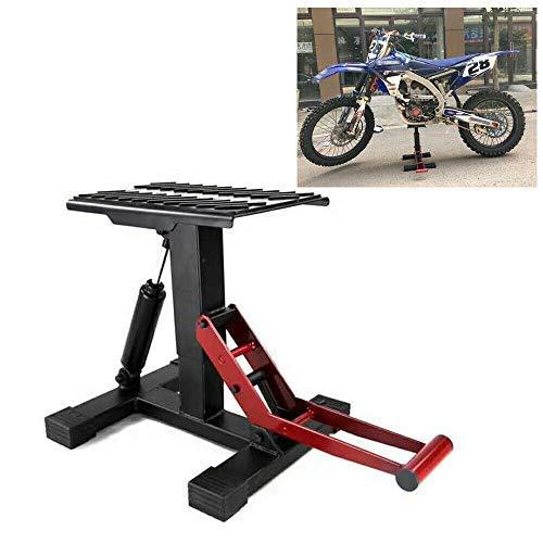 Berkalash Motorrad Hebebühne, Heber Reparatur Werkzeug, Höhenverstellbarer Offroad-Motorrad-Nabenhalter 150 kg / 46 cm