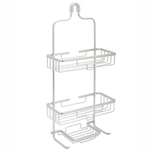 Zenna Home NeverRust Rustproof Aluminum Shower Caddy Satin Chrome