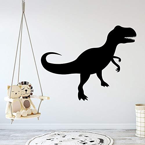JXMN Arte Dinosaurio extraíble Arte Vinilo Pared Pegatina Impermeable Pared Pegatina decoración del hogar 60x74cm