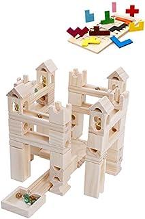 Good Baby ビ-玉転がし 80PCS 玉転がし 積み木 木製 立体パズル 知育玩具 おもちゃ