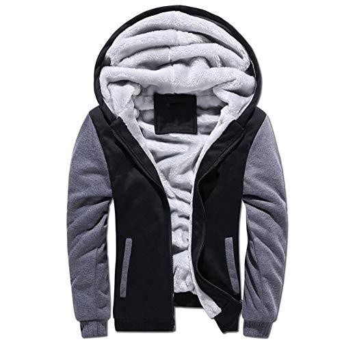 Sweat-Shirt_Hoodies Pull Polaire Brossé ArrêTez-Vous Jeunesse Sportswear Jumper Tops pour Hommes Et Femmes Jaune/Noir/Gris/Bleu/Rouge XL 2XL 3XL 4XL 5XL