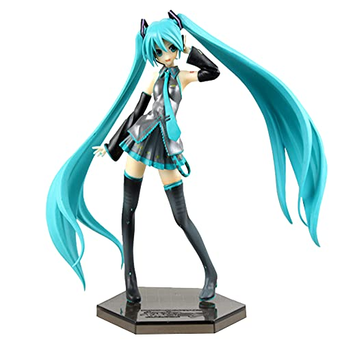 Hatsune Miku Figure Toy Anime Statue Collectible Gift for Birthday (7.4 Inch)