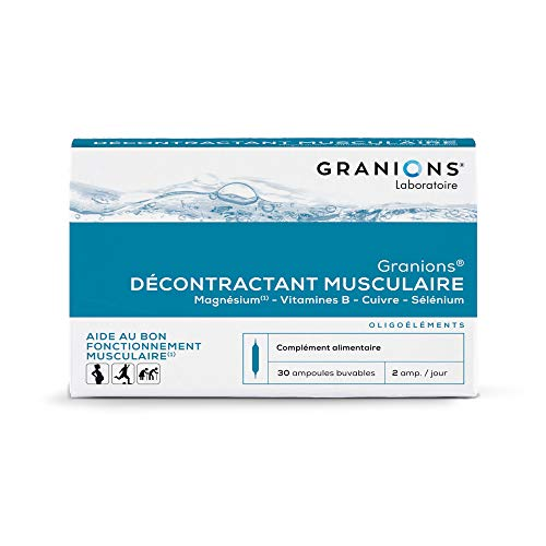 Granions Décontractant Musculaire - 30 ampoules =...