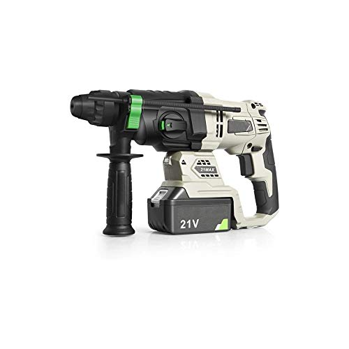 WSMLA Cordless Screwdriver, Electric Screwdriver, Rechargeable Accessories, Battery Indicator High-power lithium impact drill electric wireless industrial grade