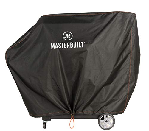Masterbuilt MB20081220 Gravity Series 1050 Charcoal Grill + Smoker Cover, Black