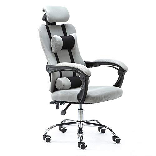 Sedia da ufficio ergonomica, Sedia da ufficio Professionale Sedia da gioco ergonomico Computer con poltrona Boss ASCOMPABILE Sedia da ufficio girevole per ufficio per Per casa e ufficio (Color : 7)