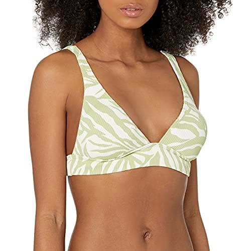 Billabong Damen Banded Tri Top Bikini, Jungle Town Kaktus, X-Large