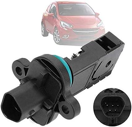 Sensor medidor de flujo de aire Medidor del caudal másico del sensor en forma for el Vauxhall en forma for el Cadillac ELR en forma for el 2014-2015 en forma for el Chevrolet Volt en forma for 2011-20