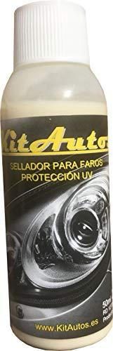 Kitautos sef1 Sellador para la Restauración de Faros, Blanco