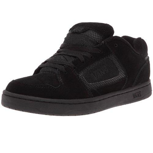 Vans Docket, Baskets mode homme - Noir (black/charcoal), 44 EU (10.5)