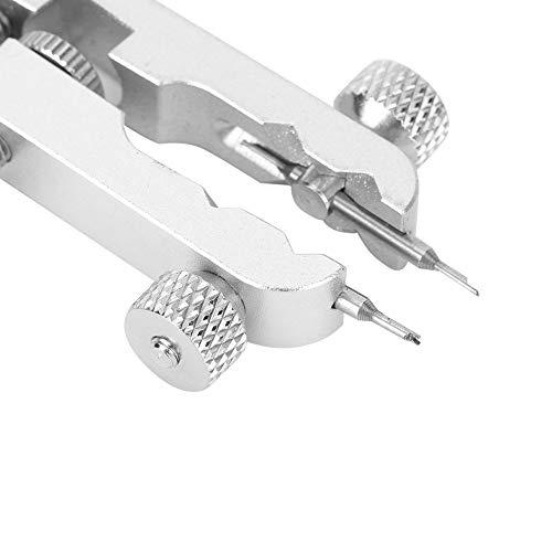 Alicates de extracción de banda de reloj de acero inoxidable Alicates de pulsera de reloj con dos horquillas para correa de reloj