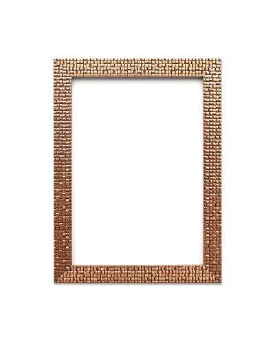 10 x 8 Zoll - Bronze Bling - Flacher Heller/Spiegeleffekt/Mosaik Bilderrahmen/Foto-/Posterrahmen - Mit Rückseite aus MDF - Mit bruchsicheren Plexiglas aus Styrol für hohe Klarheit