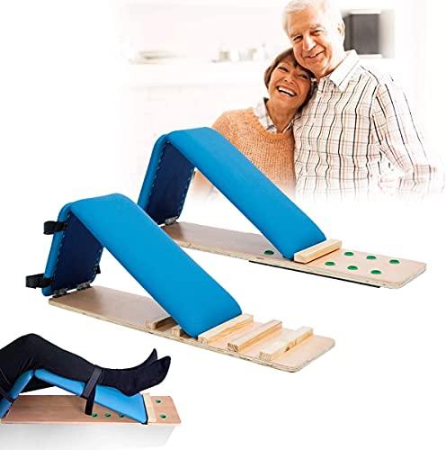 XJYDS Ejercicio de recuperación para cuádriceps, equipo de rehabilitación de extremidades inferiores, entrenador de flexión de la articulación de la rodilla para la artritis flexor de la artritis de l