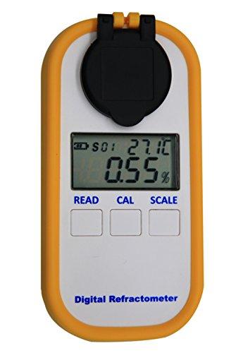 AMTAST Digitales Kaffee Refraktometer TDS-Meter Zucker Brix TDS Messgerät