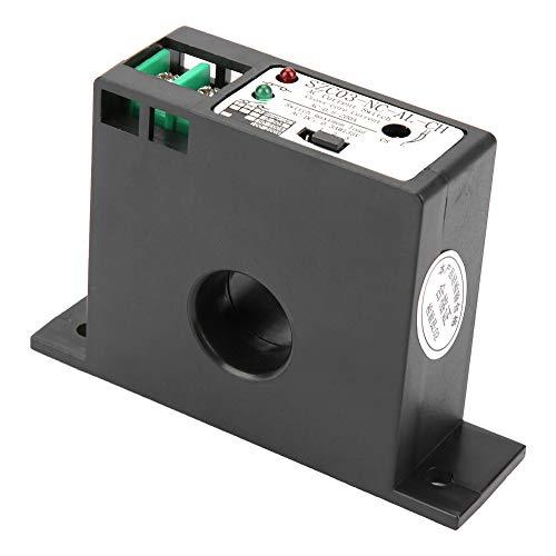 Interruptor de sensor de corriente AC, normalmente cerrado interruptor de detección de corriente ajustable AC 0.5-200A SZC03-NC-AL-CH