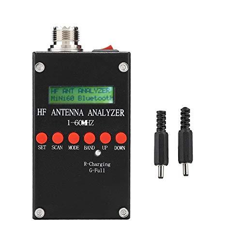 Antenne-analyser-Mini60 HF ANT SWR Zeer nauwkeurige antenne-analysator 2,0 V pp (normaal) Instelbaar, ondersteunt meetgegevens golfvormanalyse