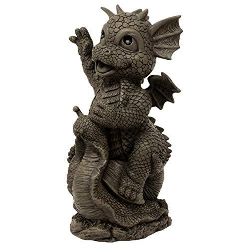 MystiCalls by Mayer Chess Gartendrache Snail - Garten, Figur, Schnecke