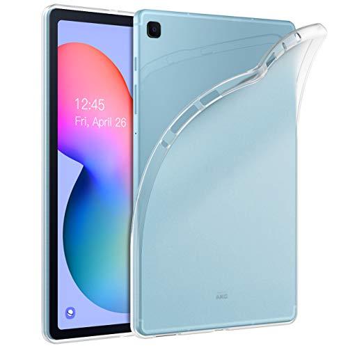 TiMOVO Hülle Kompatibel mit Samsung Galaxy Tab S6 Lite 10.4 Inch 2020 (SM-P610/P615), Ultra Slim TPU Stoßfest Schutzhülle Schale Bumper Kompatibel mit Galaxy Tab S6 Lite 10.4 2020 Tablet- Transparent