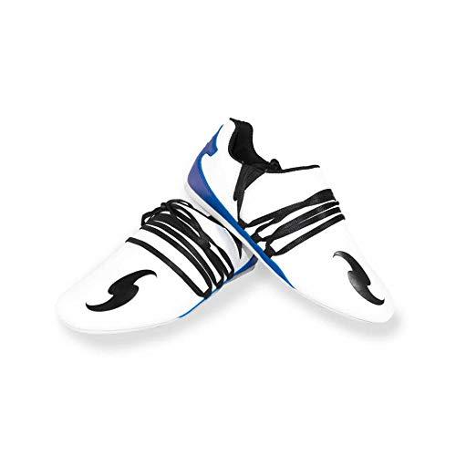 Dorawon Suwon, Zapatos de Artes Marciales. Unisex Adulto, Blanco Azul, 43 EU