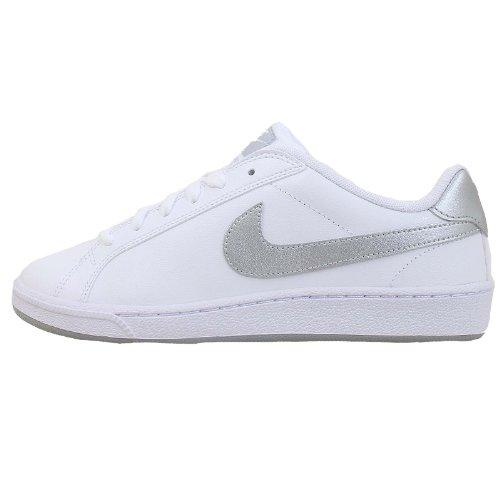 Nike Mujeres Court Majestic Running Trainers 454256 Sneakers Zapatos (UK 9 US 11.5 EU 44, White Metallic Silver 114)