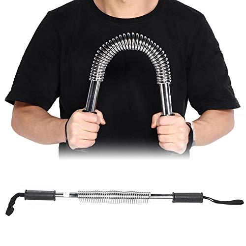 SALUTUYA Equipo de Goma del Gimnasio del Entrenador del músculo del expansor del Pecho, para la Aptitud(Plating, 50kg)