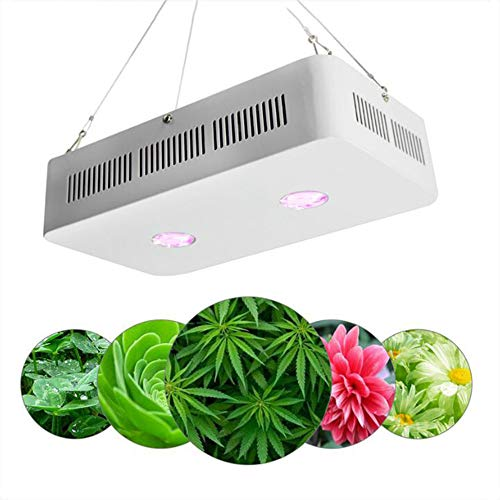 Optical Series LED plantenlamp 200W Dual LED Grow Light Full Spectrum kweken voor kamerplanten groenten en bloemen / 315X175x85 (Mm)