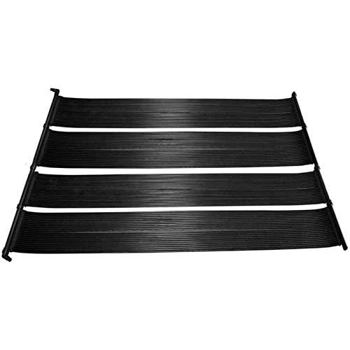 Alfombra Calentador Solar De Agua Calentador De Piscinas Protección UV Y Ozono Placas Calefactoras para Piscina,3.3 x 14.8Ft