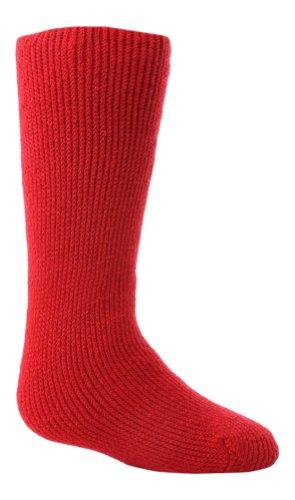 HEAT HOLDERS - Kinder Warme Winter Thermosocken in 8 Farben und 2 Größen (26-32 Eur, Rot)