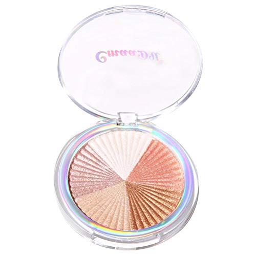 Highlighter Einzelner Gebackener Augen Schatten Puder Make-Up Paletten Schimmer Metallische Augenschminke Palette - Für den perfekten Teint