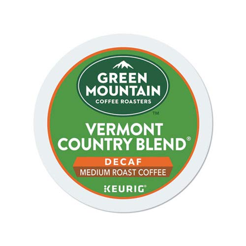 Green Mountain Coffee Vermont Country Blend Decaf, 24 Count K-Cups For Keurig Brewers (Pack of 2)