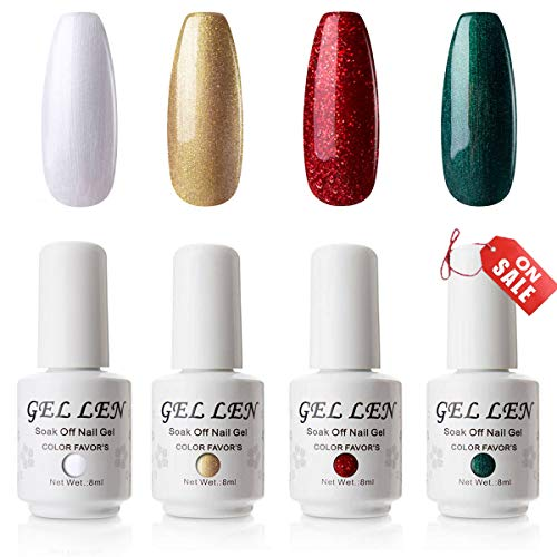 Gellen Gel Nail Polish Set 4 Colors Ch Buy Online In Kuwait At Desertcart