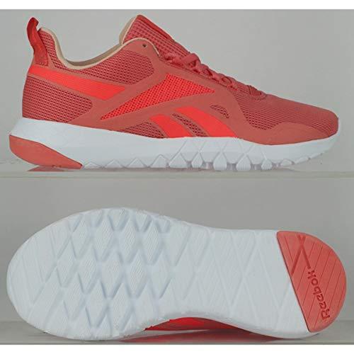 Reebok Damskie buty gimnastyczne FLEXAGON Force 3.0, Twisted Coral Orange Flare Aura Orange, 4 UK