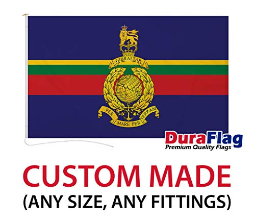 Custom Made DuraFlag Royal Marines Premium Quality Flag - Various Sizes and Options Available