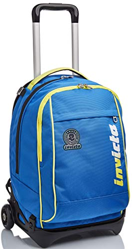 Trolley New Tech Invicta , Kupang, Blu , 3 in 1 Zaino Sganciabile