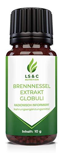 Brennnessel Extrakt Globuli | HOCHDOSIERT | Entwässerung | 10g