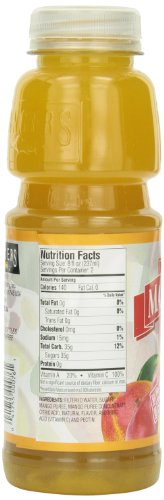 Langers Mango Nectar Juice, 16-Ounces (Pack Of 12)