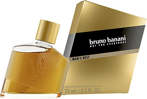 bruno banani Man's Best – Eau de Toilette Herren Parfüm Natural Spray – Eleganter, maskuliner Premiumduft für Männer – 1er Pack (1 x 75ml)