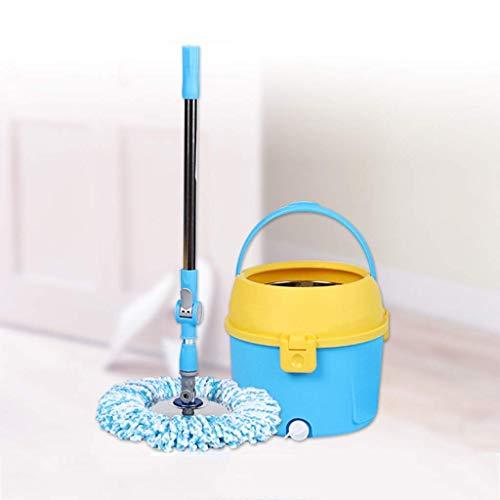 ZHTY Mop, Piso de Limpieza MOP MOP MOP Microfibra Mop Bucket Limpieza Sistema de Limpieza Spinning Piso Mop Limpieza de la casa, C XPing (Tamaño: C) Song (Size : A)
